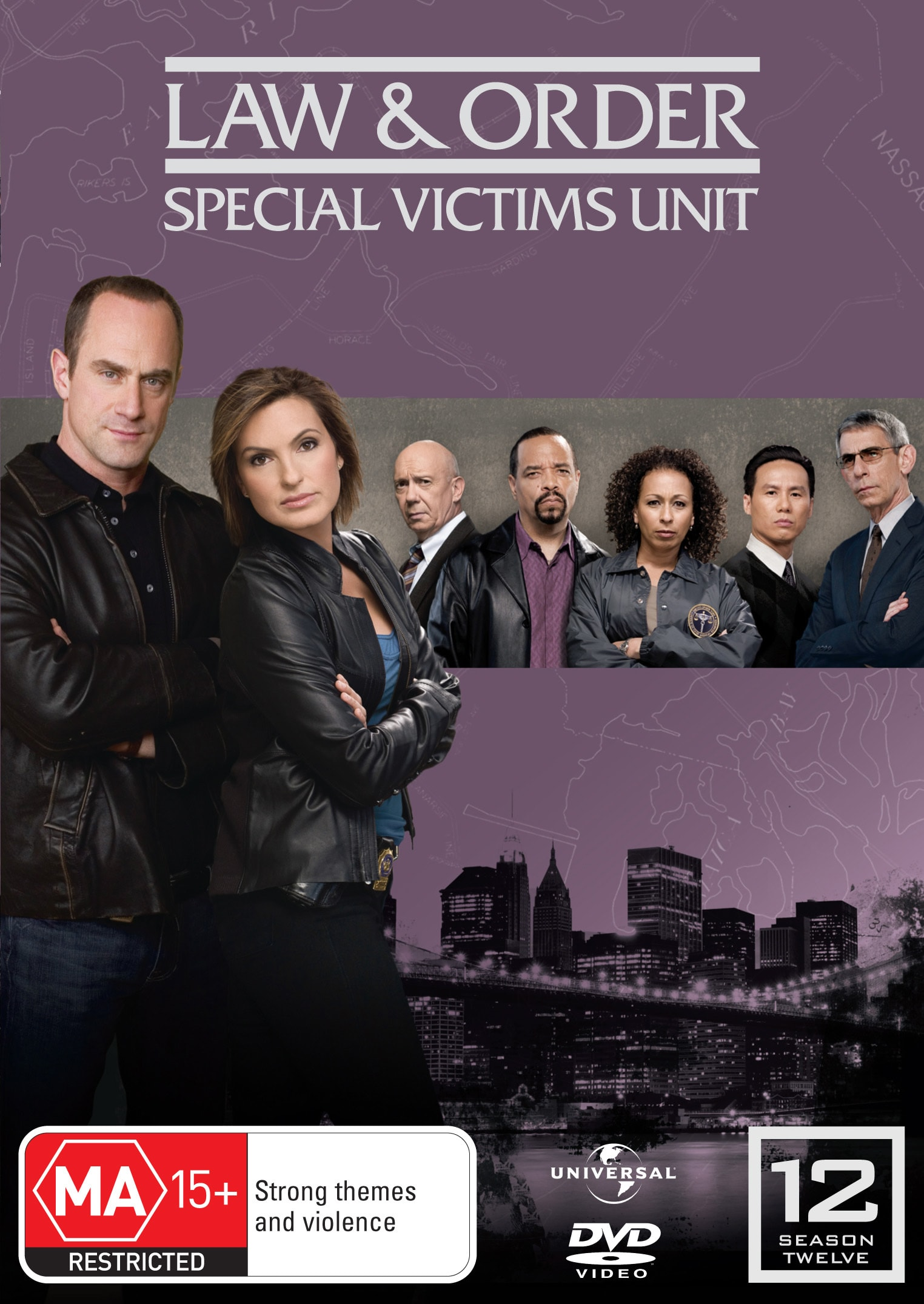 Law and Order - Special Victims Unit: Season 12 [DVD]