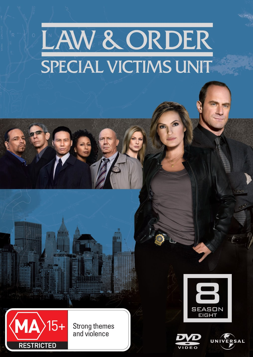 Law and Order - Special Victims Unit: Season 8 [DVD]