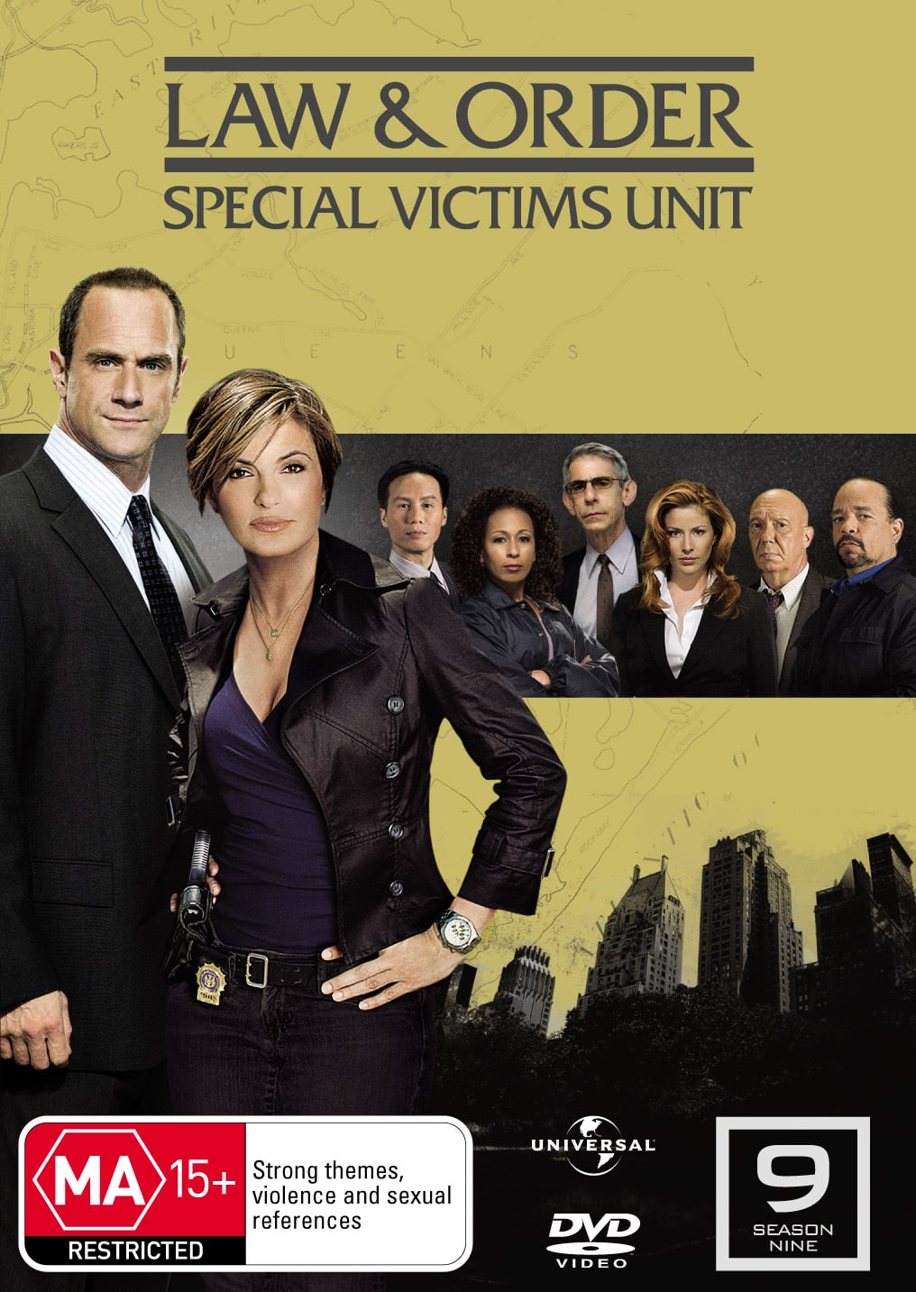 Law and Order - Special Victims Unit: Season 9 [DVD]