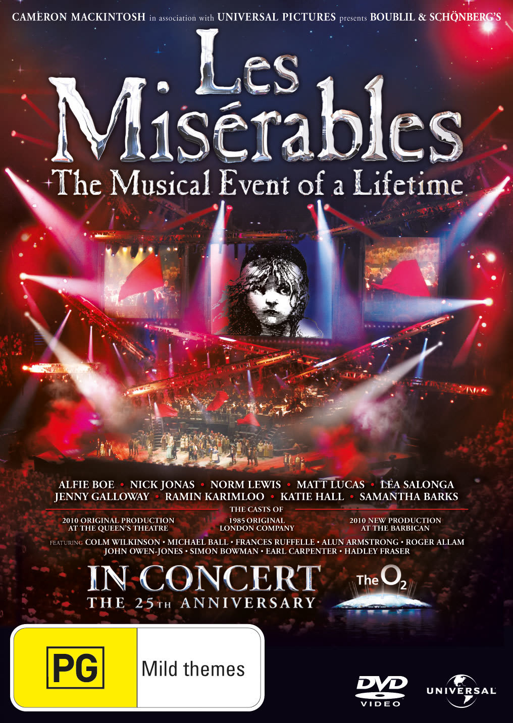 Les Misérables: In Concert - 25th Anniversary Show [DVD]