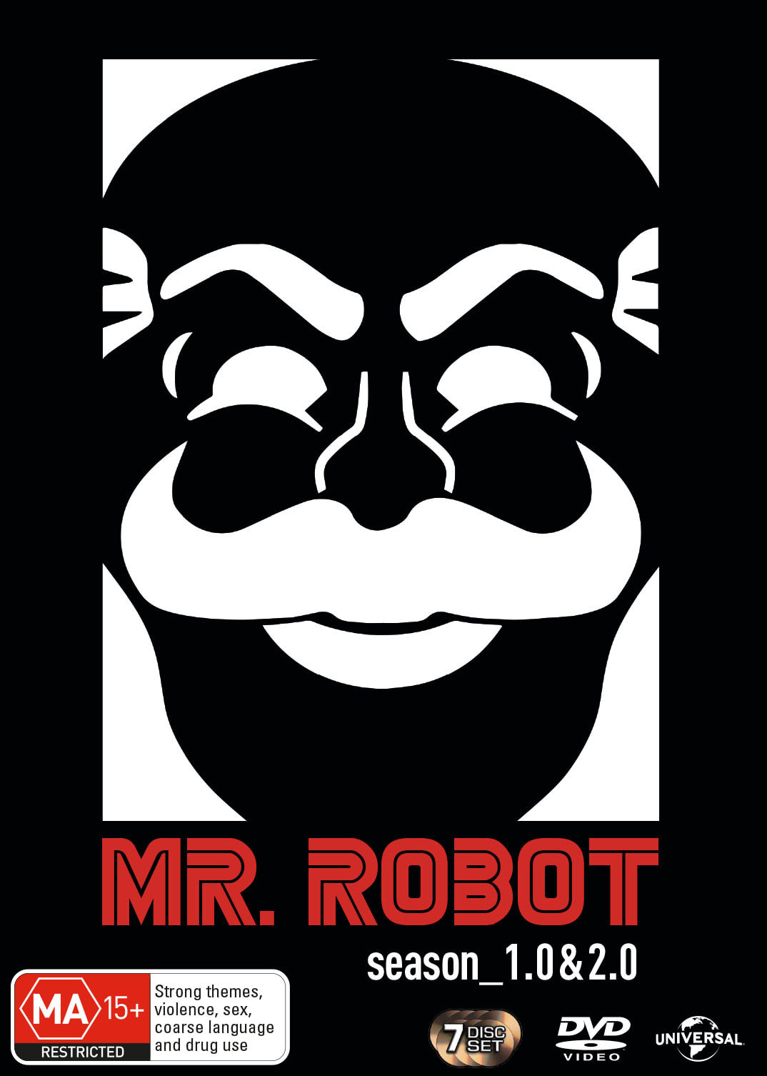 Mr. Robot: Season_1.0 & 2.0 [DVD]
