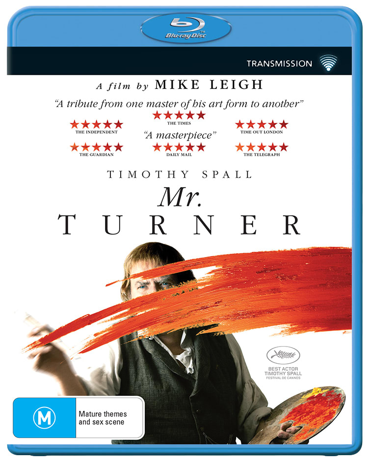 Mr. Turner [Blu-ray]