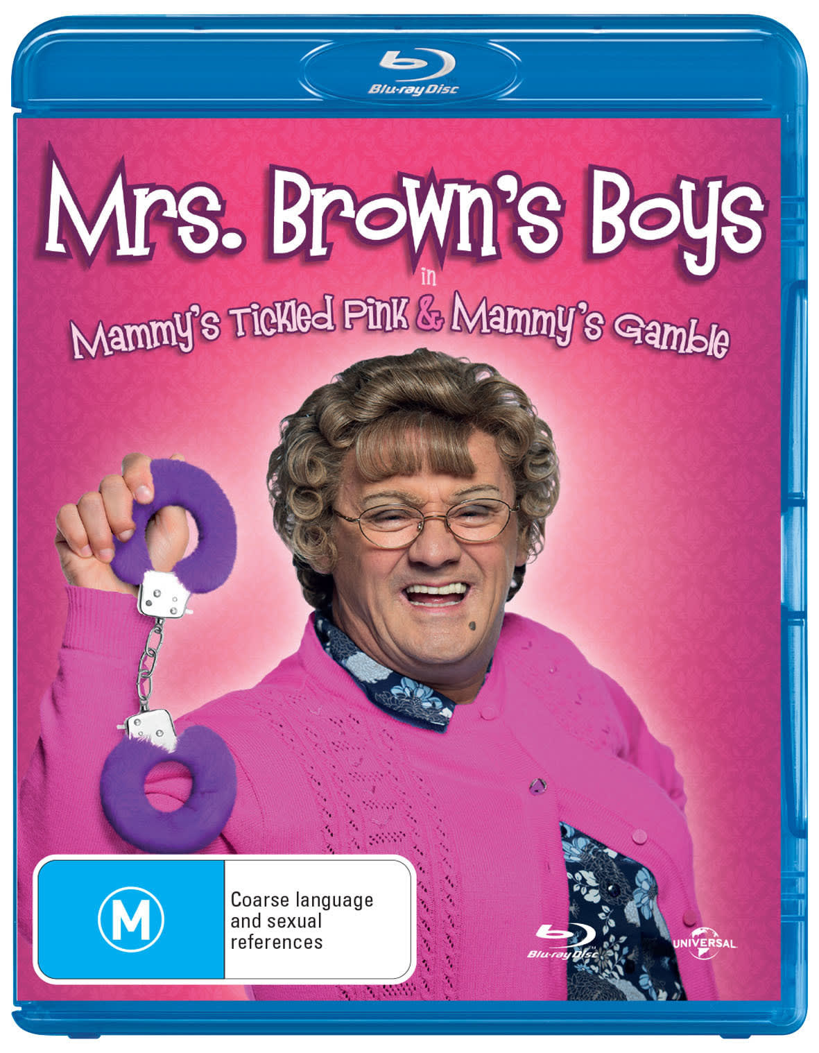 Mrs Brown's Boys: Mammy's Tickled Pink/Mammy's Gamble [Blu-ray]