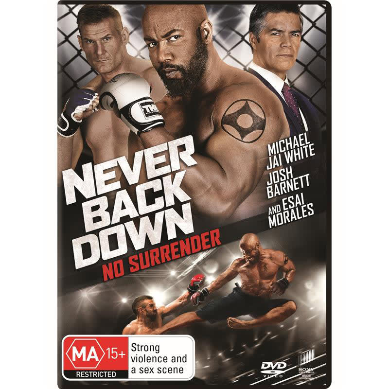 Never Back Down: No Surrender [DVD]