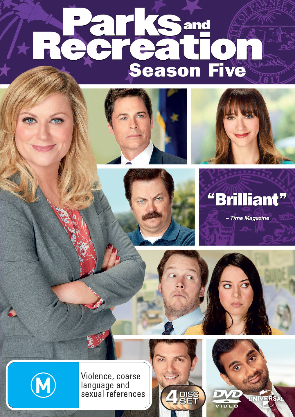 Parks and Recreation: Season Five [DVD]