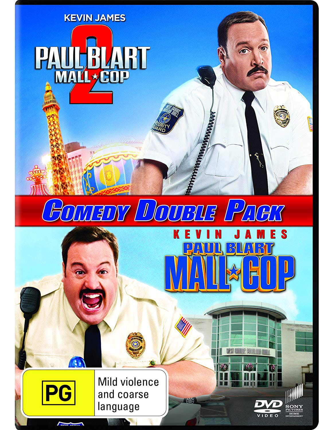 Paul Blart - Mall Cop 1 and 2 [DVD]