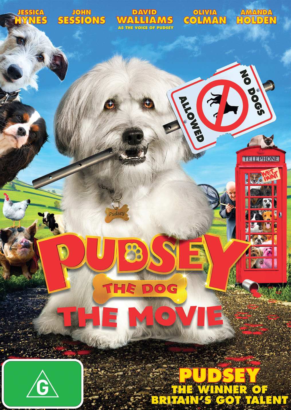 Pudsey the Dog - The Movie [DVD]