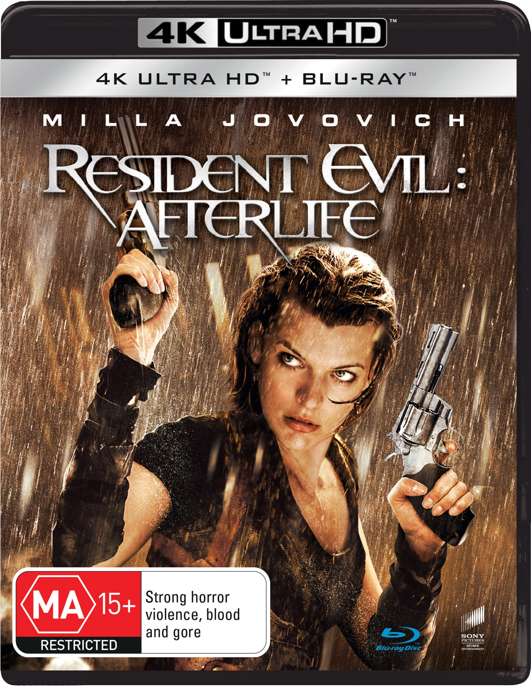 Resident Evil: Afterlife (4K Ultra HD + Blu-ray) [UHD]