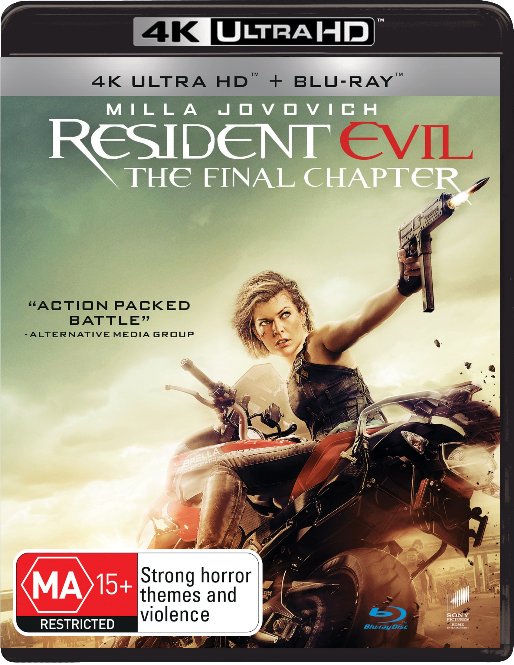 Resident Evil: The Final Chapter (4K Ultra HD + Blu-ray) [UHD]