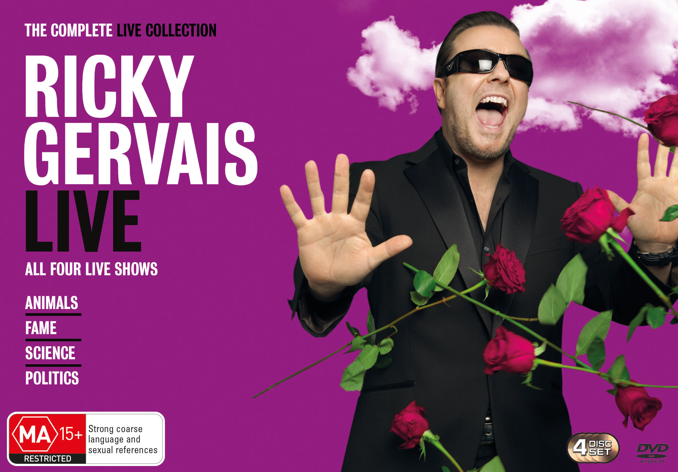 Ricky Gervais: The Complete Live Collection [DVD]
