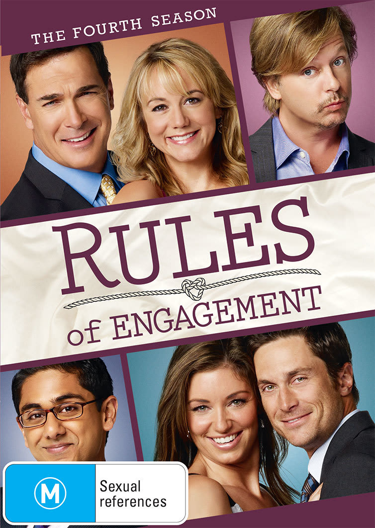 Rules of Engagement: The Fourth Season [DVD]