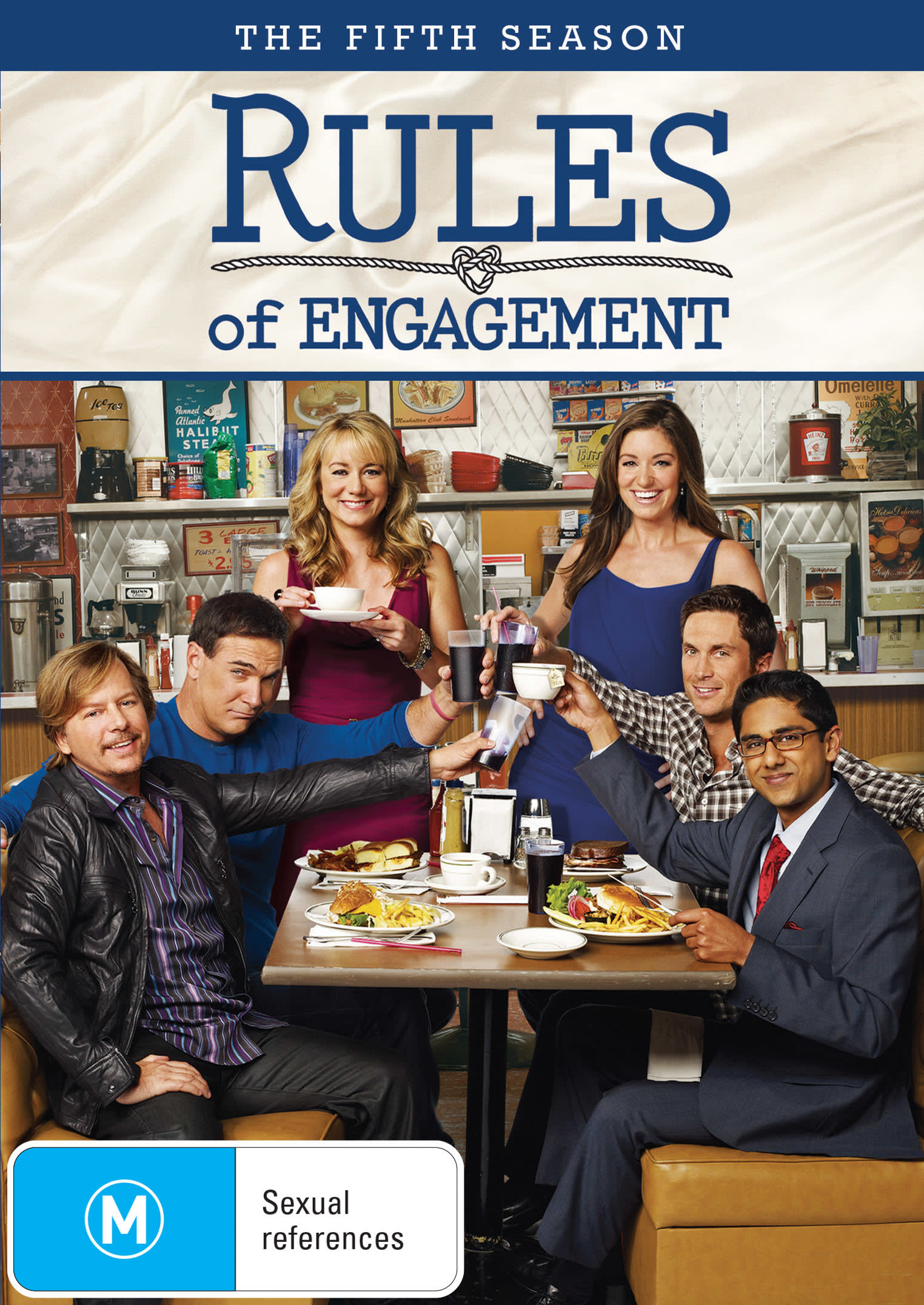 Rules of Engagement: The Fifth Season [DVD]