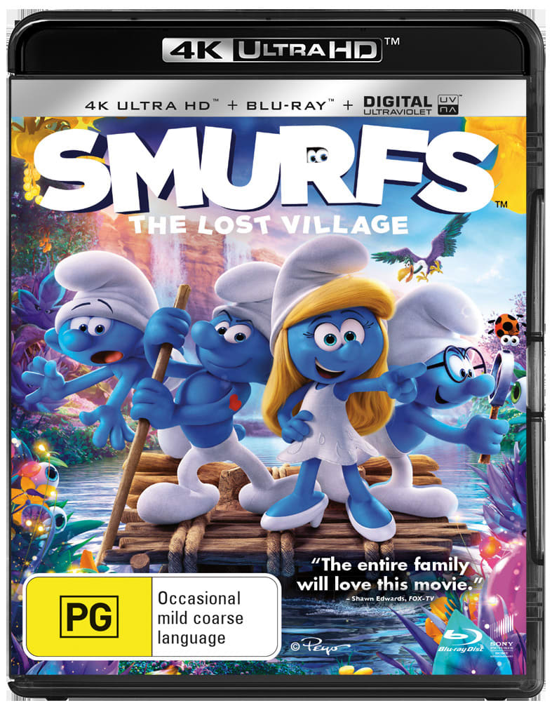 Smurfs - The Lost Village (4K Ultra HD + Blu-ray) [UHD]