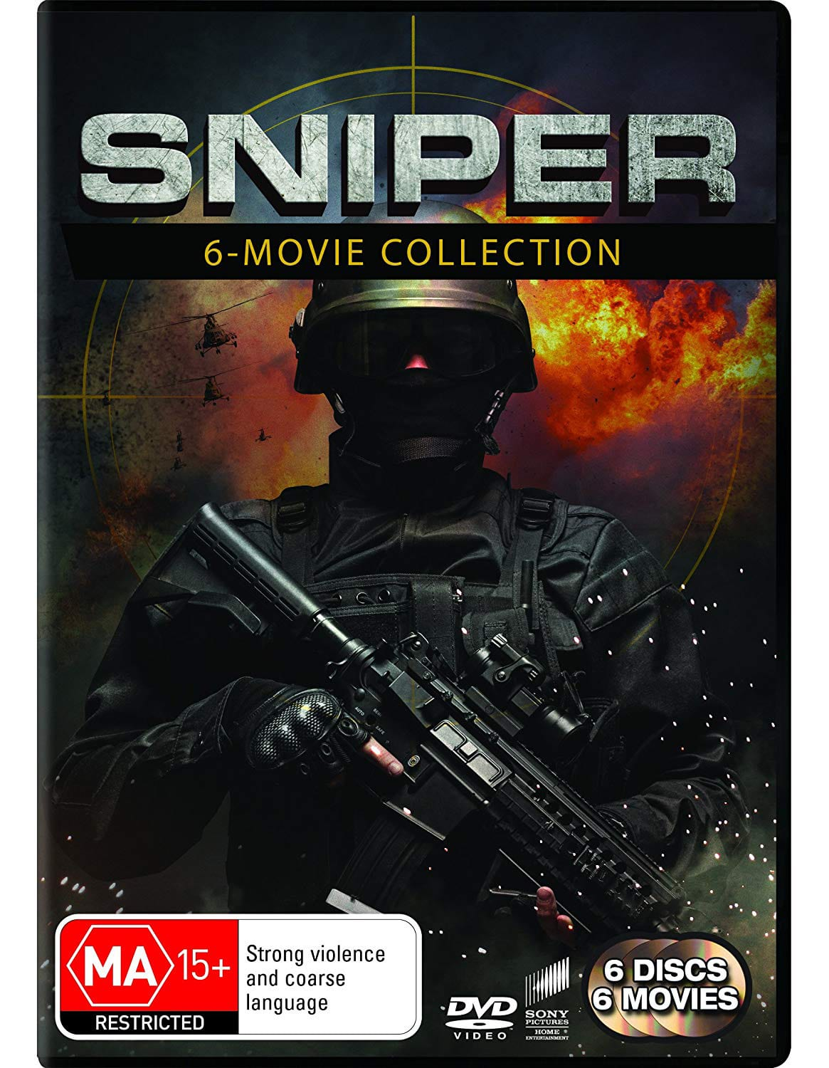Sniper: 6-movie Collection (Box Set) [DVD]