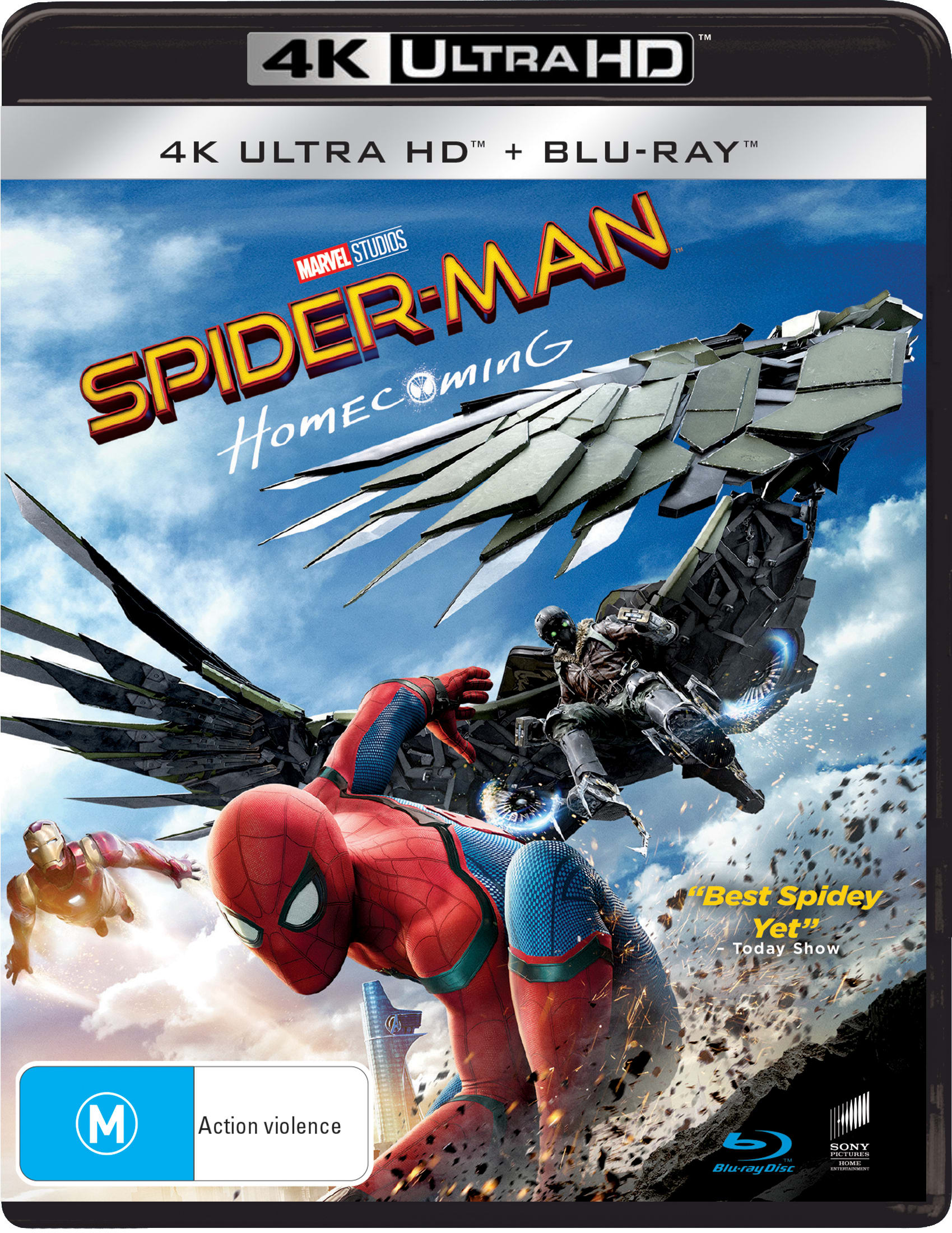 Spider-Man: Homecoming (4K Ultra HD + Blu-ray) [UHD]