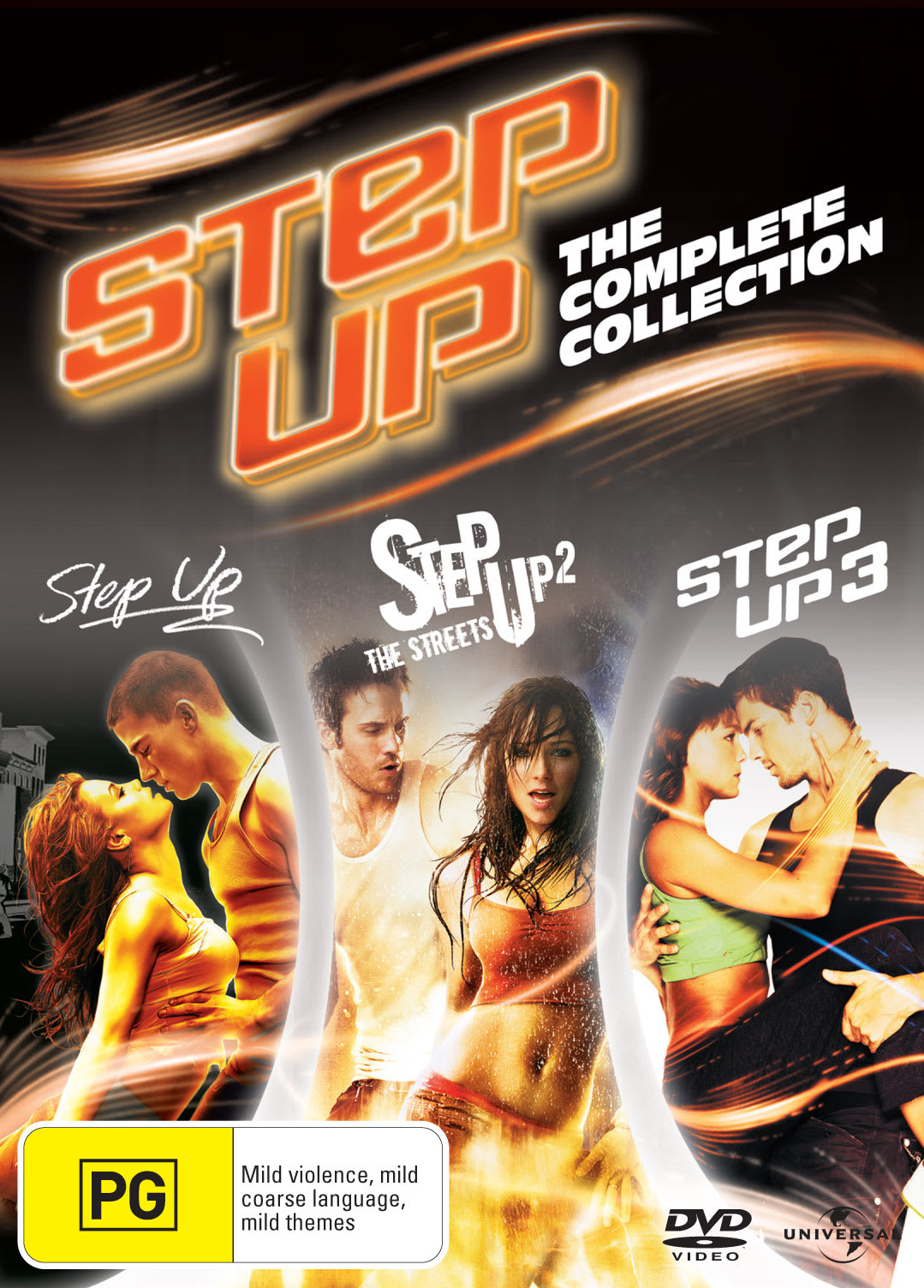 Step Up 1-3 [DVD]