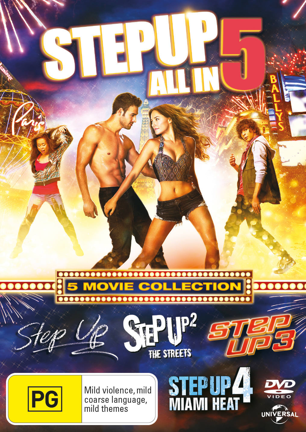 Step Up 1-5 [DVD]