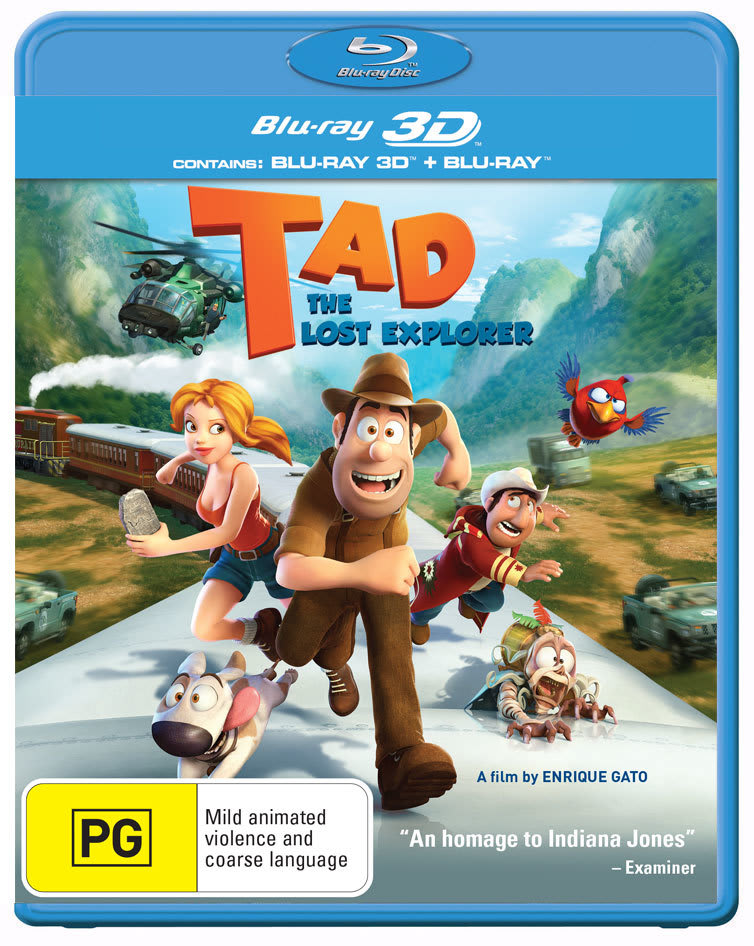 Tad, the Explorer (3D Edition with 2D Edition) [Blu-ray]