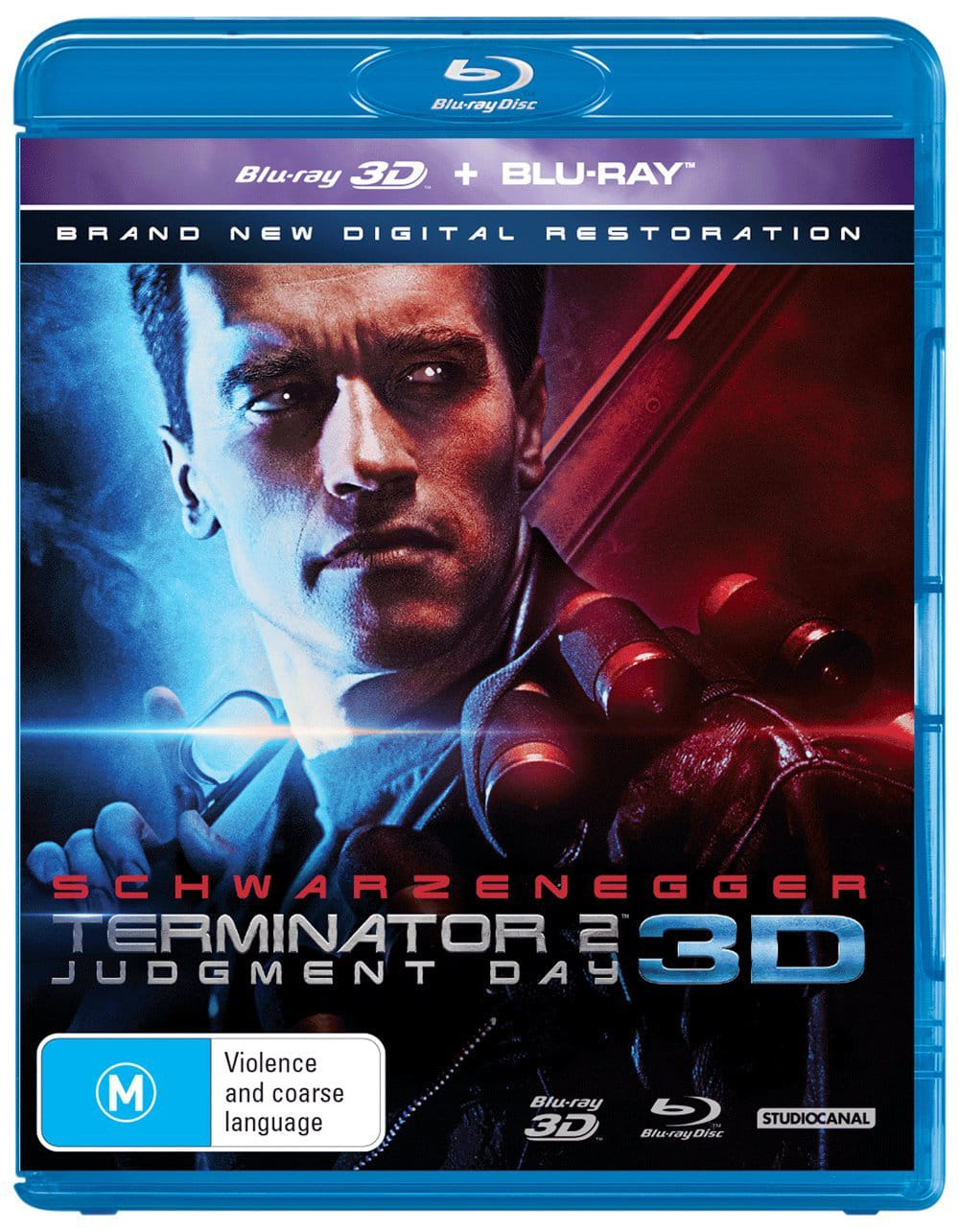 Terminator 2 - Judgment Day (3D Edition) [Blu-ray]
