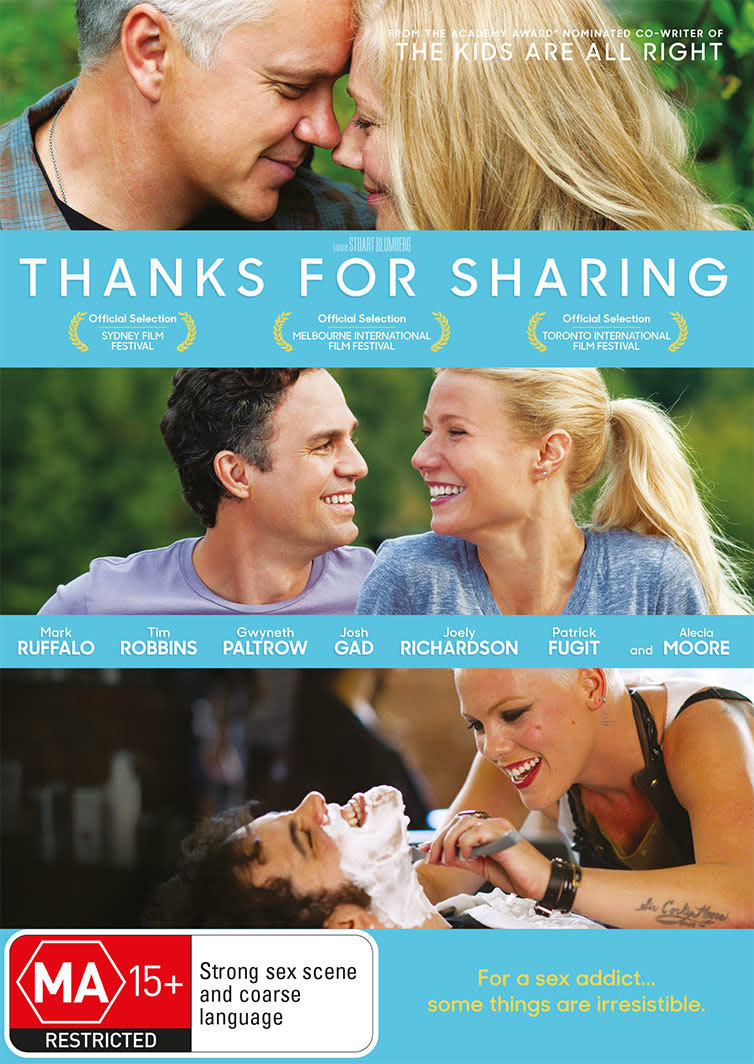 Thanks for Sharing [DVD]