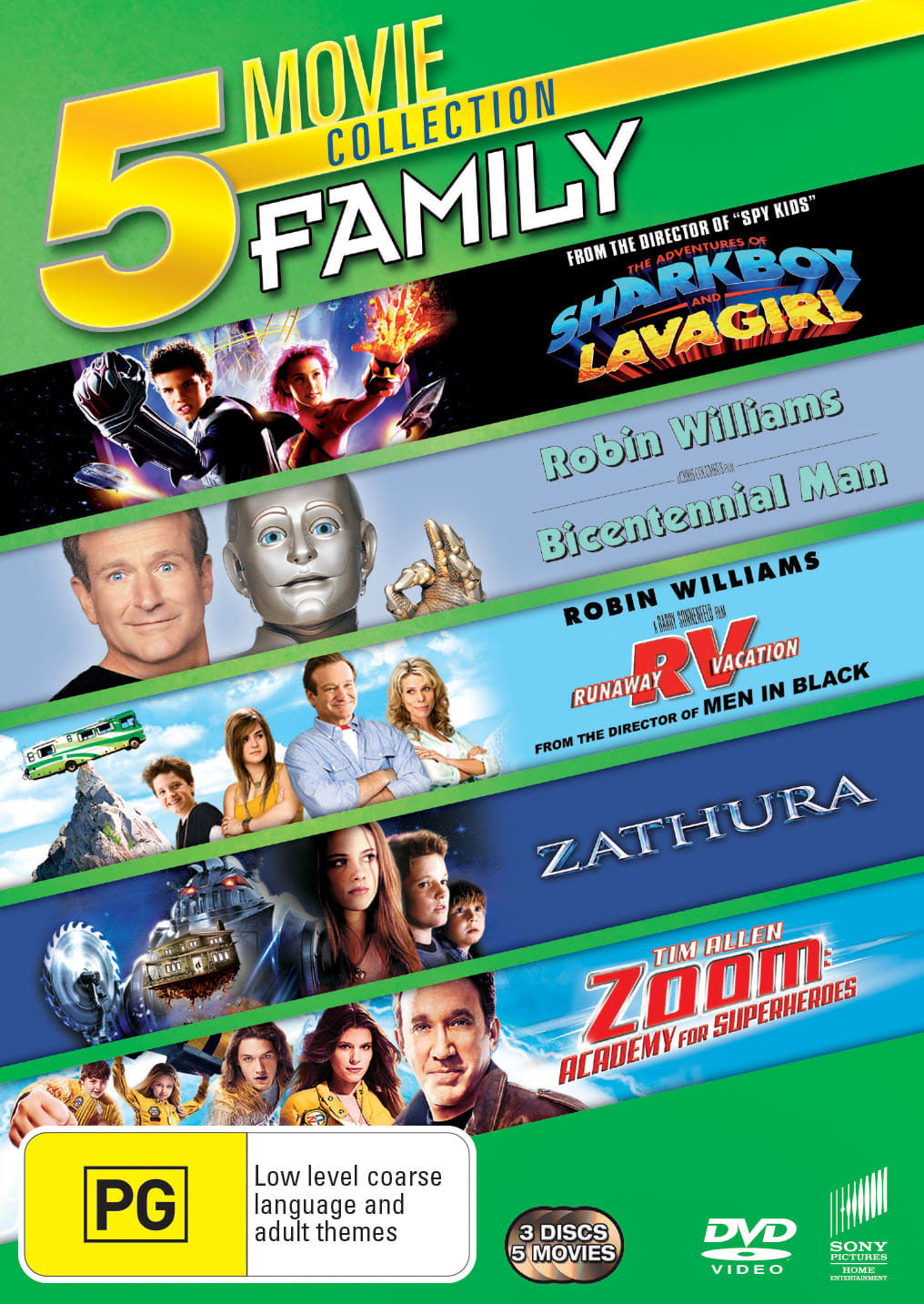 The Adventures of Sharkboy and Lavagirl/Bicentennial Man/... [DVD]
