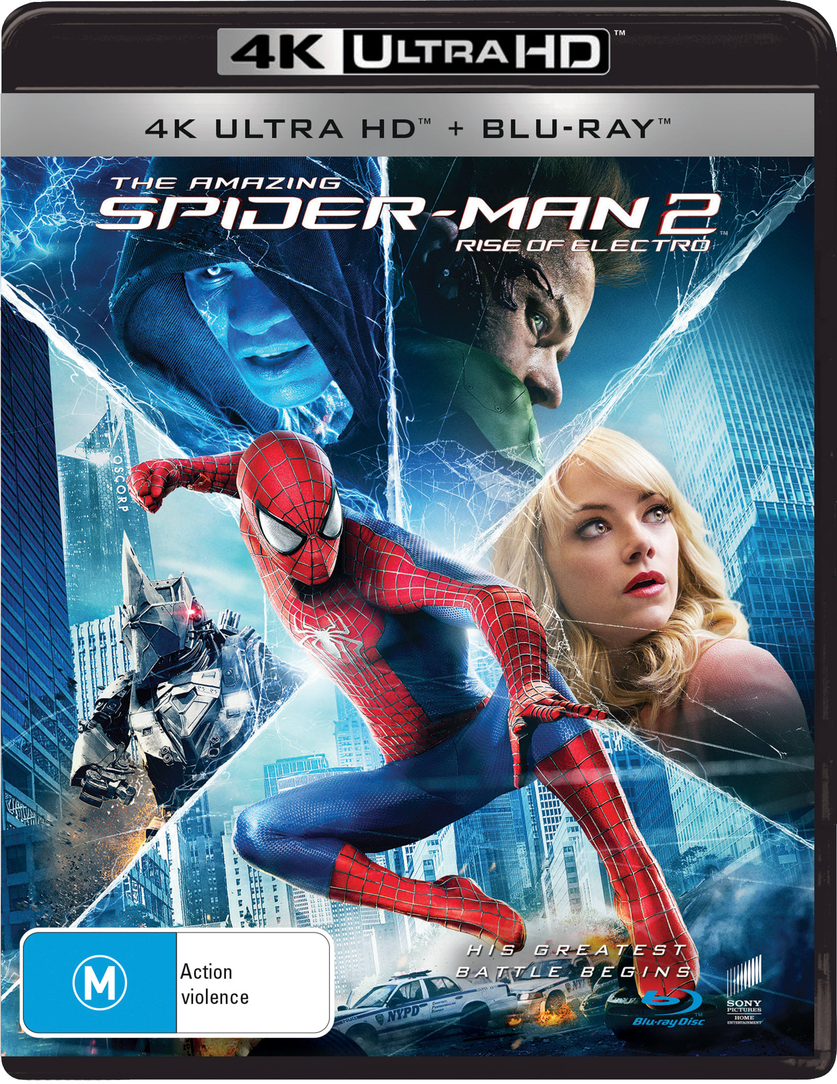 The Amazing Spider-Man 2 (4K Ultra HD + Blu-ray) [UHD]