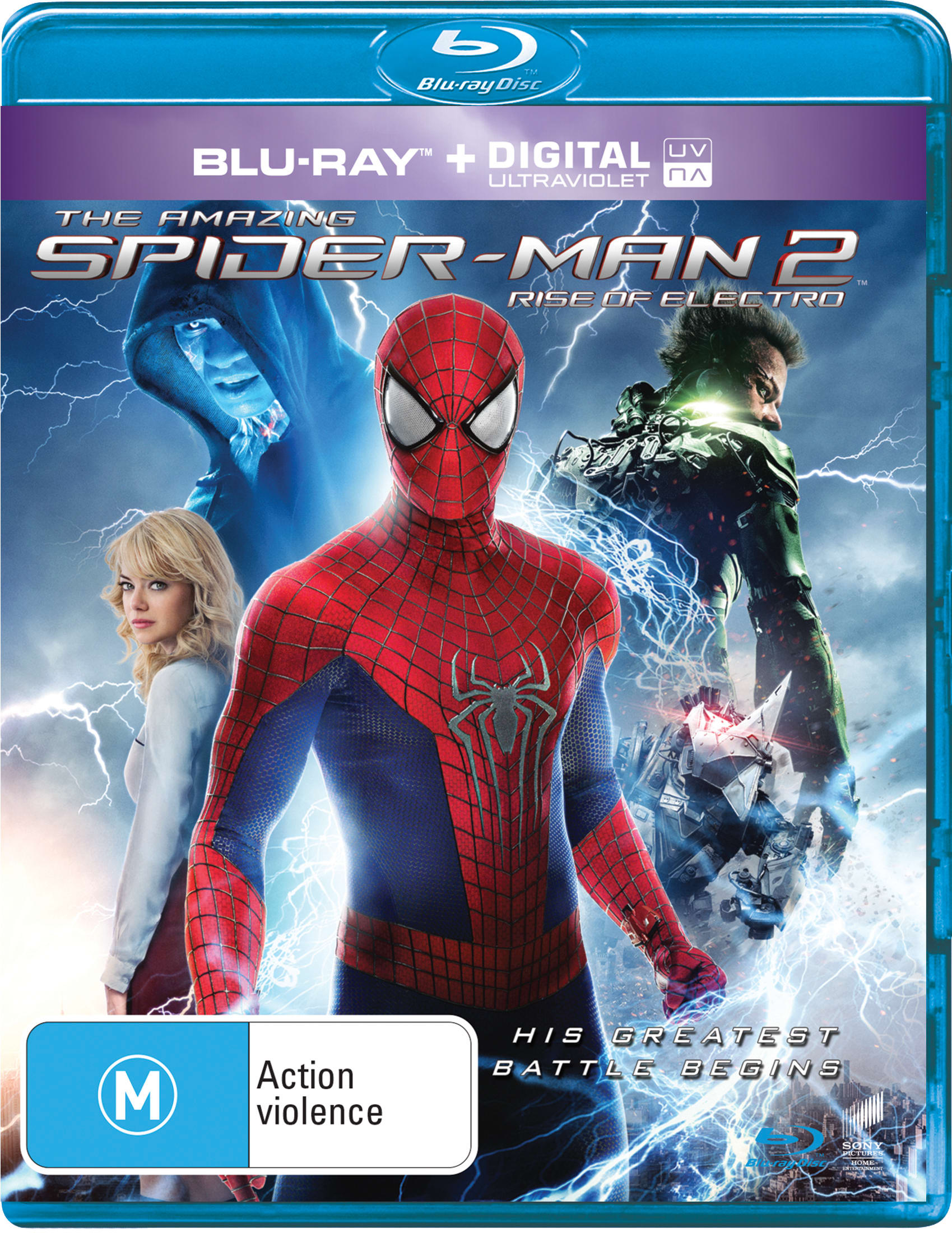 The Amazing Spider-Man 2 (3D Edition) [Blu-ray]