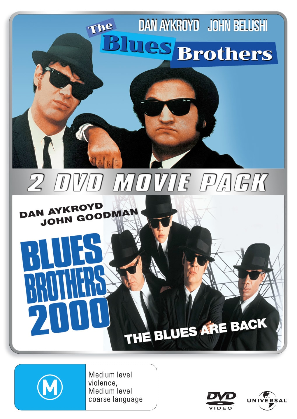 The Blues Brothers/Blues Brothers 2000 [DVD]