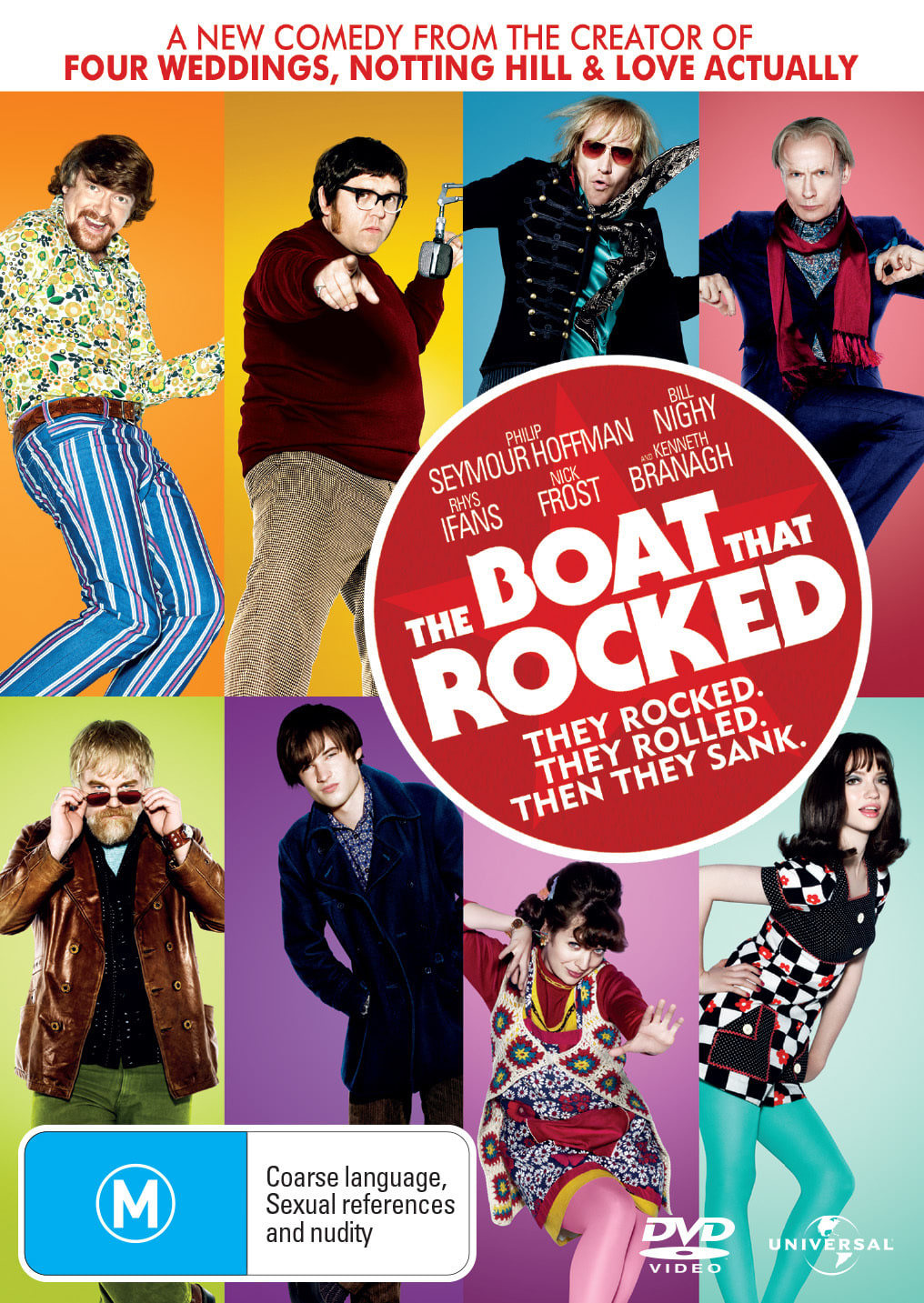 The Boat That Rocked [DVD]