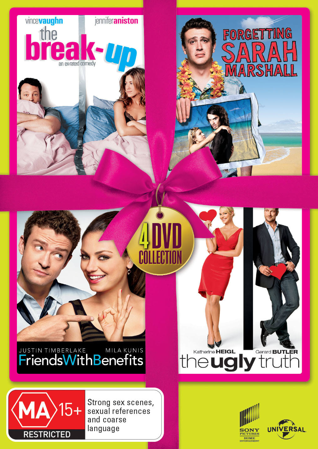 The Break-up/Forgetting Sarah Marshall/Friends With Benefits... [DVD]
