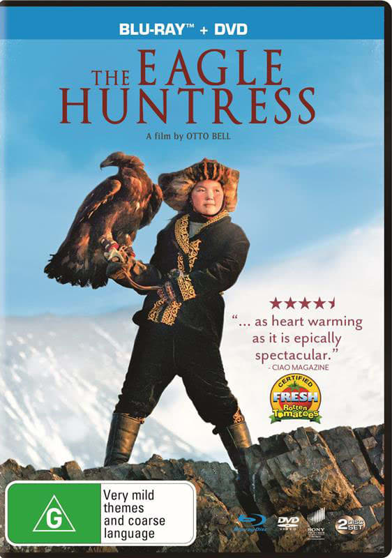 The Eagle Huntress (with DVD - Double Play) [Blu-ray]