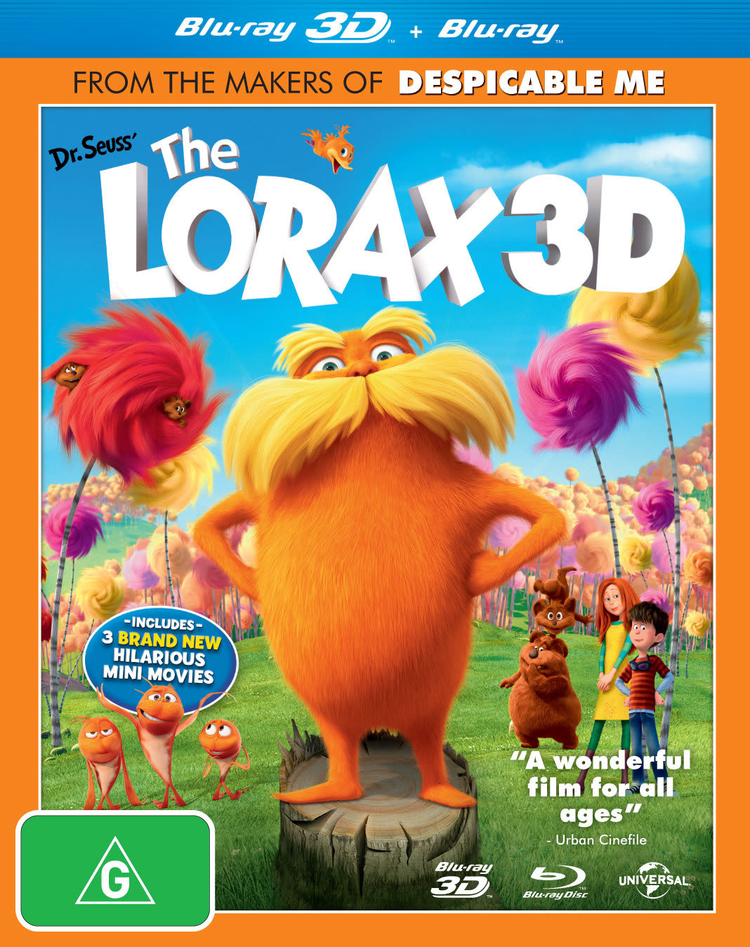 The Lorax (3D Edition) [Blu-ray]