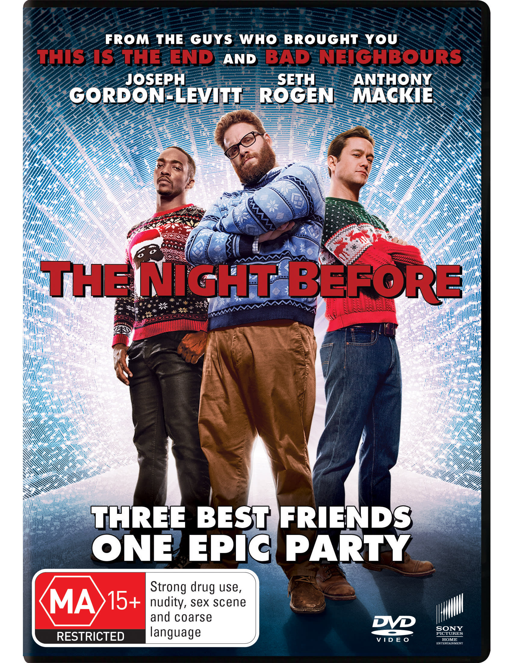 The Night Before [DVD]