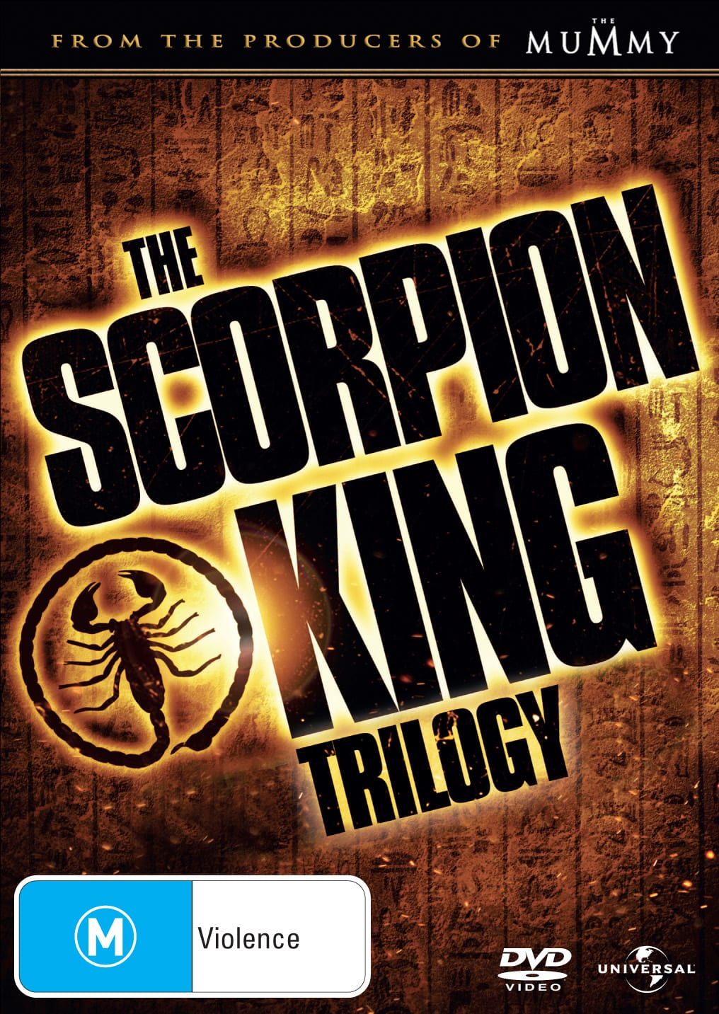 The Scorpion King/The Scorpion King 2 - Rise of a Warrior/The... [DVD]