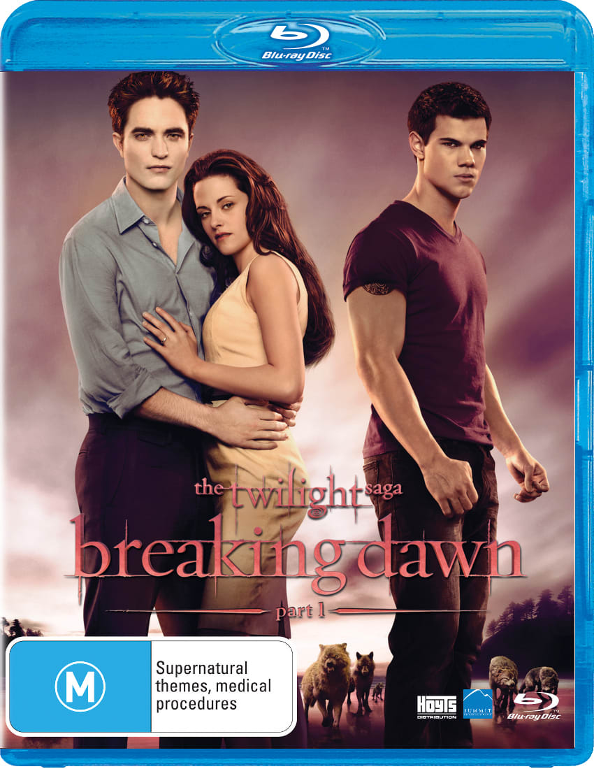 The Twilight Saga: Breaking Dawn - Part 1 [Blu-ray]