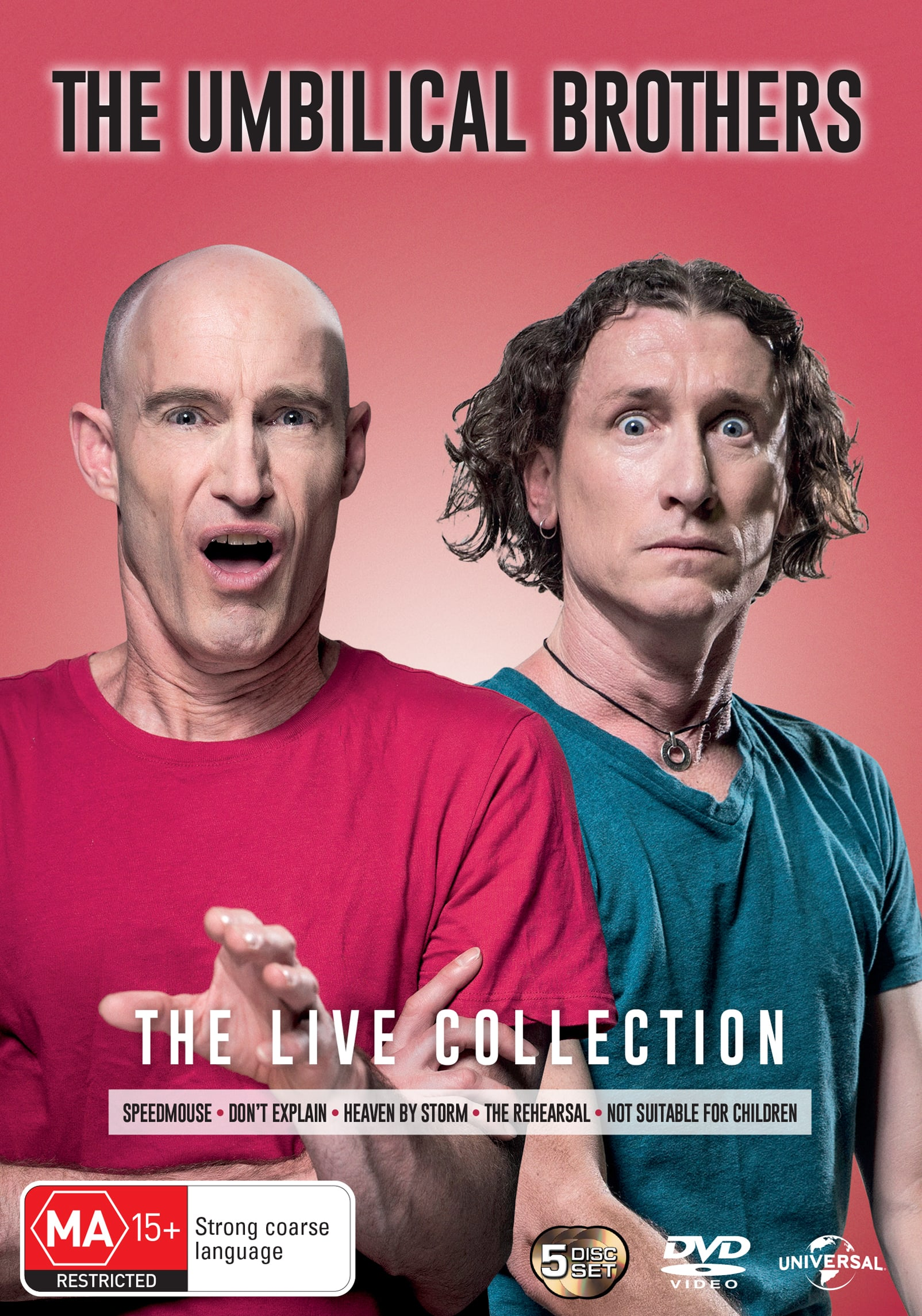 The Umbilical Brothers: Live Collection [DVD]