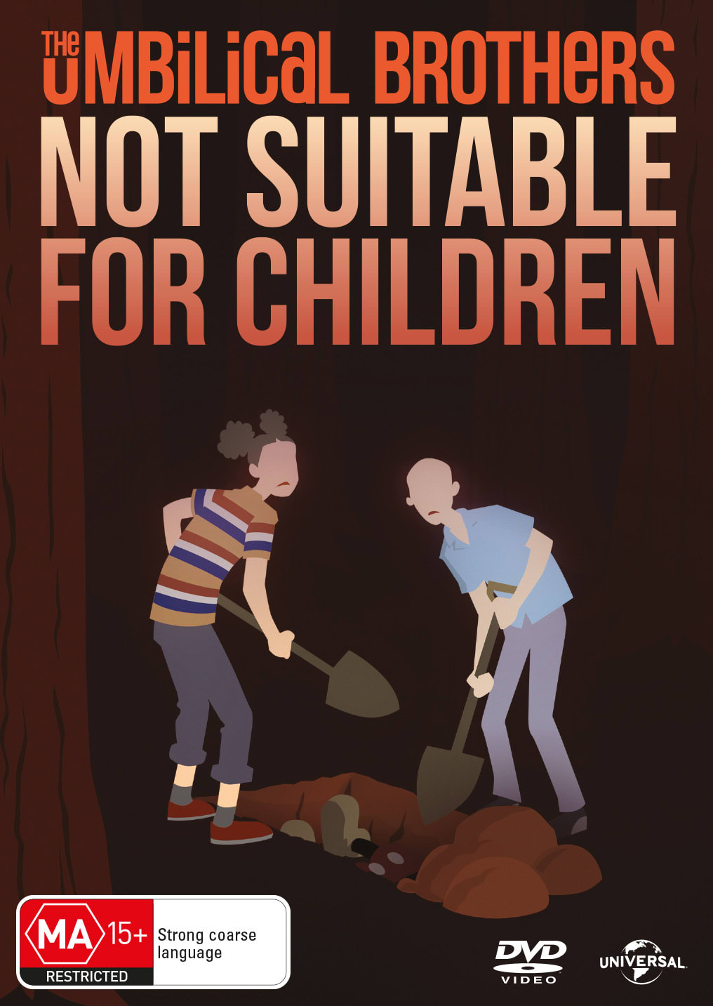 The Umbilical Brothers: Not Suitable for Children [DVD]