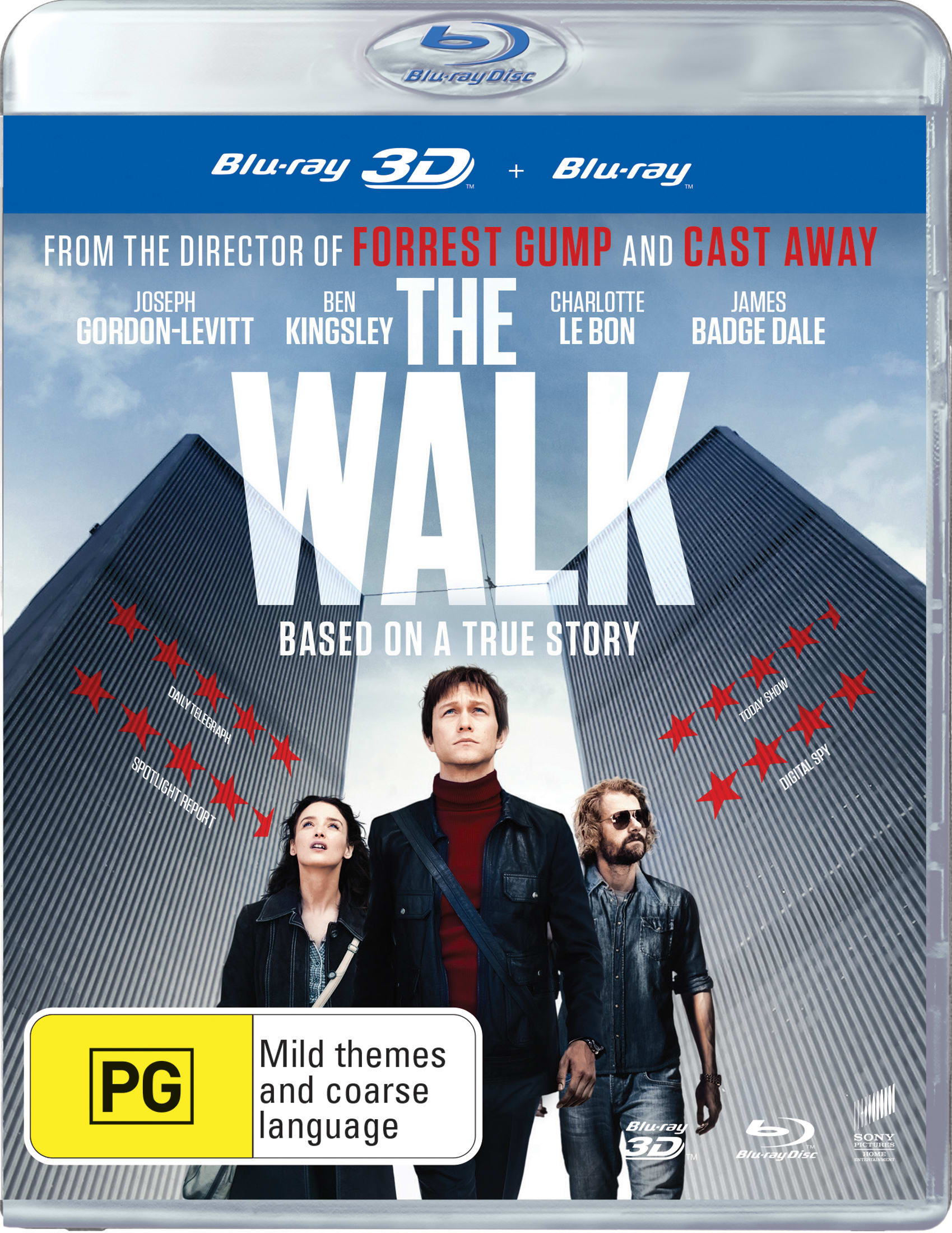 The Walk (3D Edition with 2D Edition) [Blu-ray]