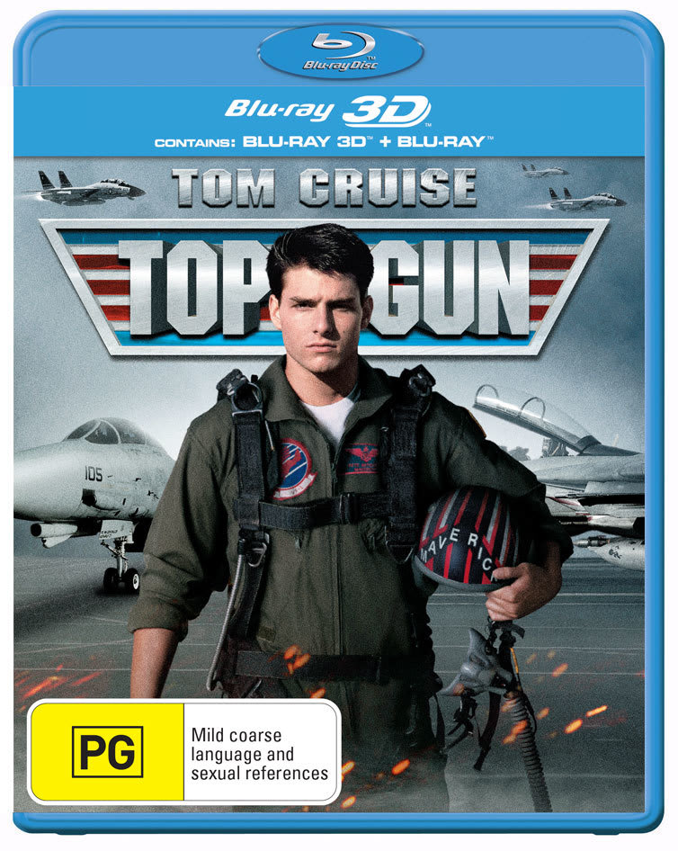 Top Gun (3D Edition with 2D Edition) [Blu-ray]