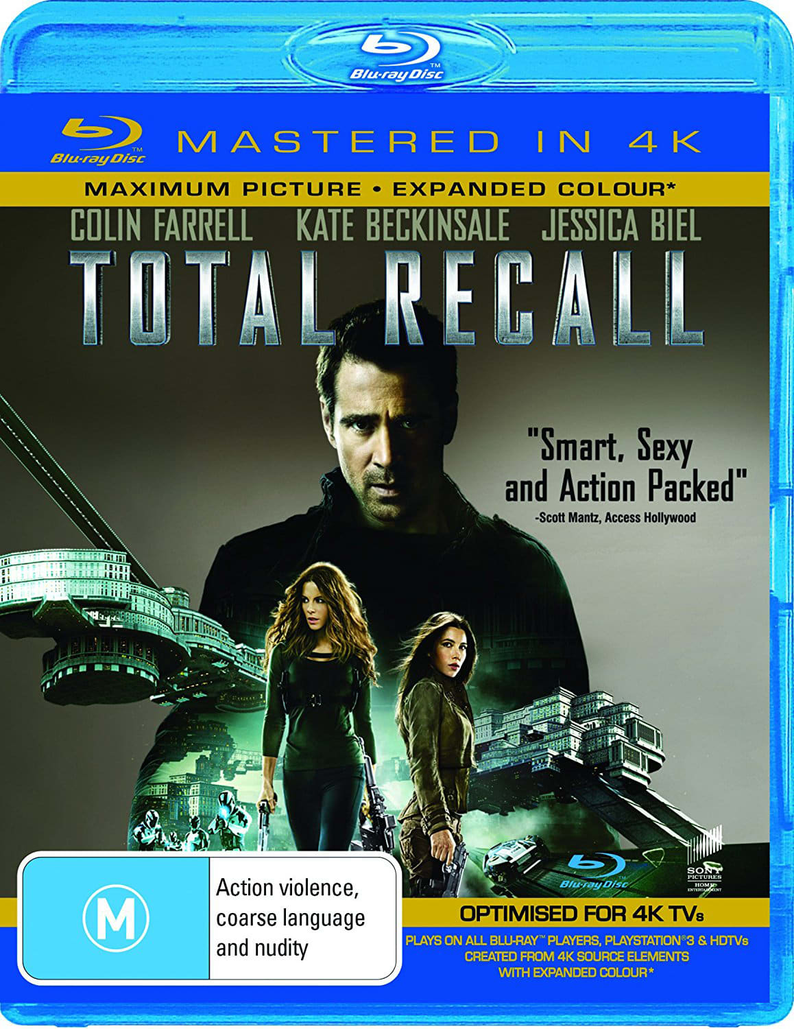 Total Recall [Blu-ray] [UHD]