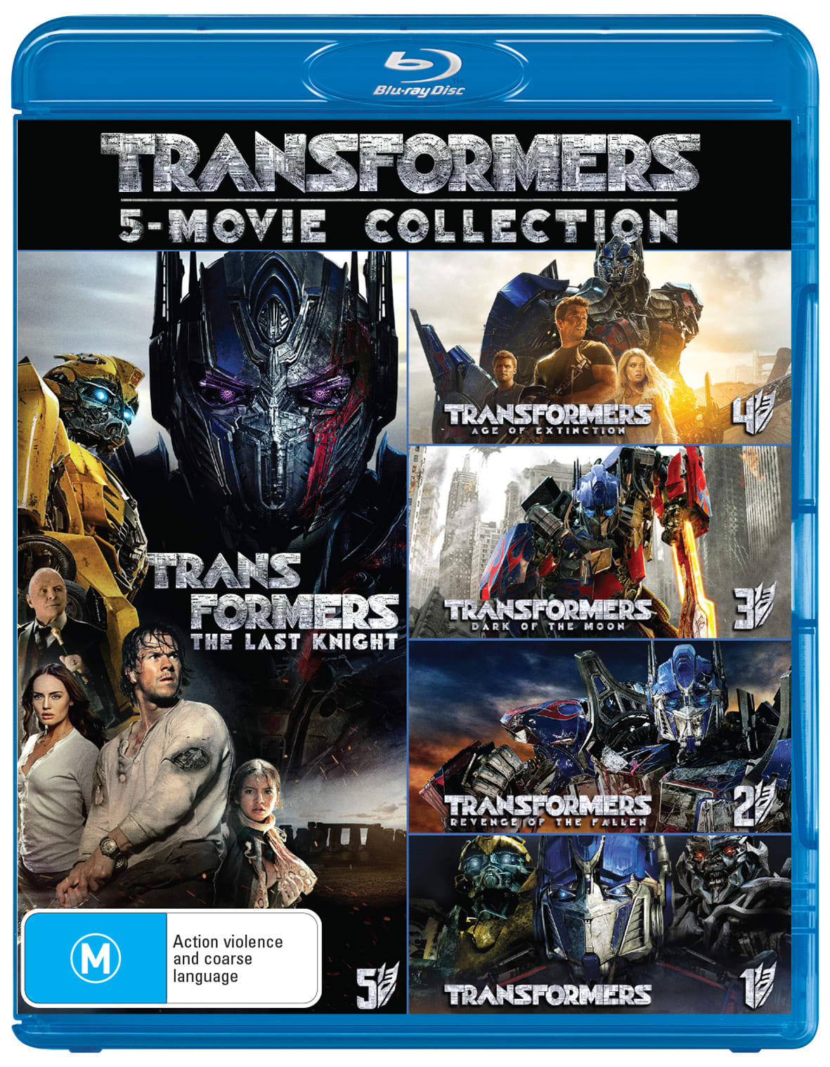 Transformers: 5-movie Collection [Blu-ray]