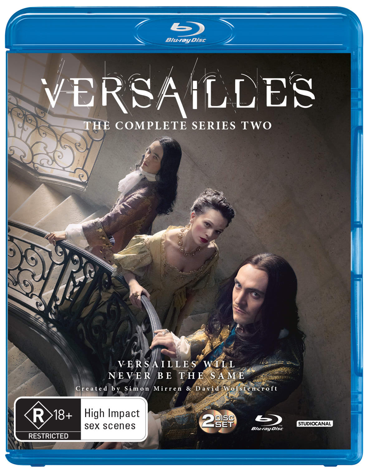 Versailles: The Complete Series Two [Blu-ray]