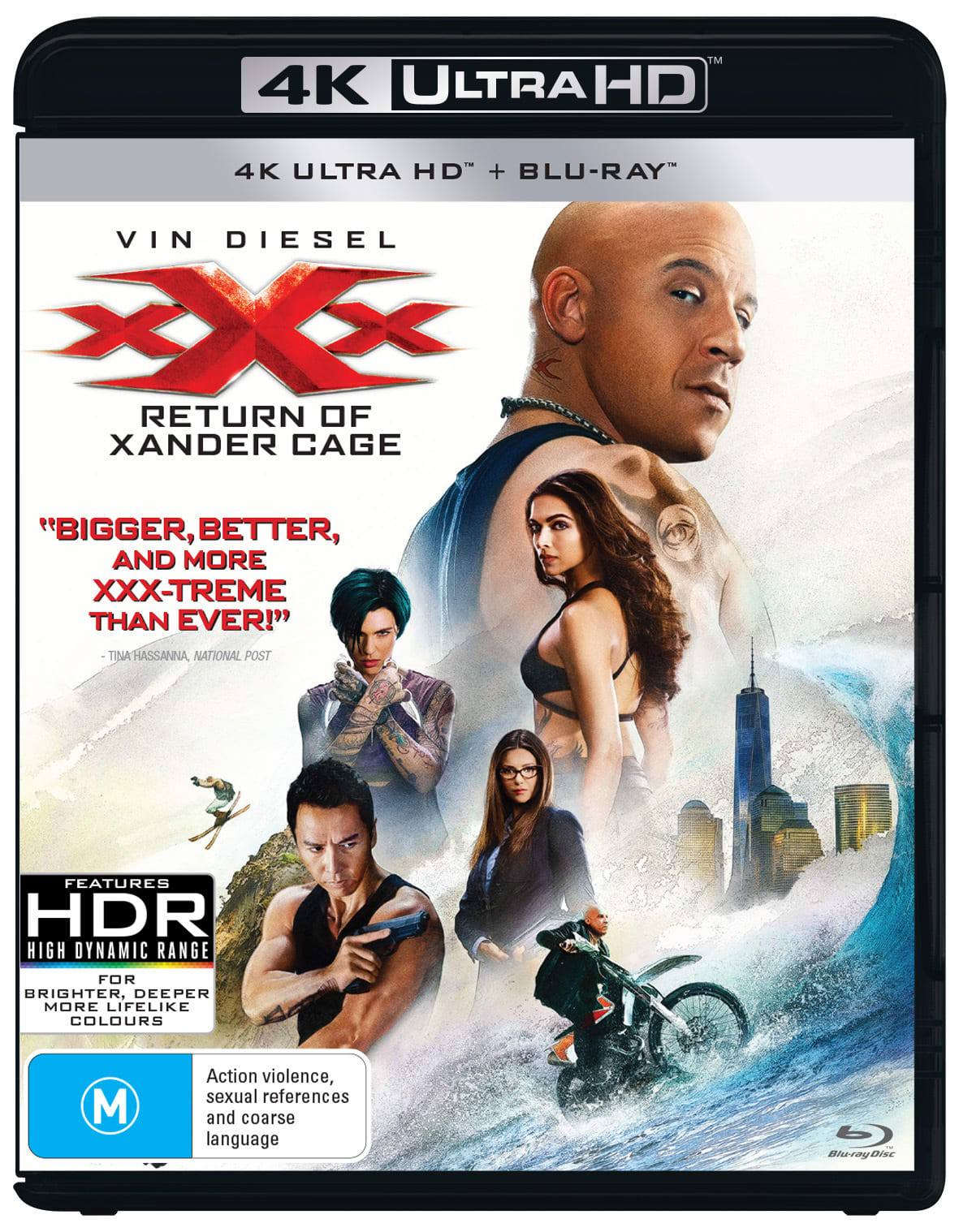 xXx - The Return of Xander Cage (4K Ultra HD + Blu-ray) [UHD]