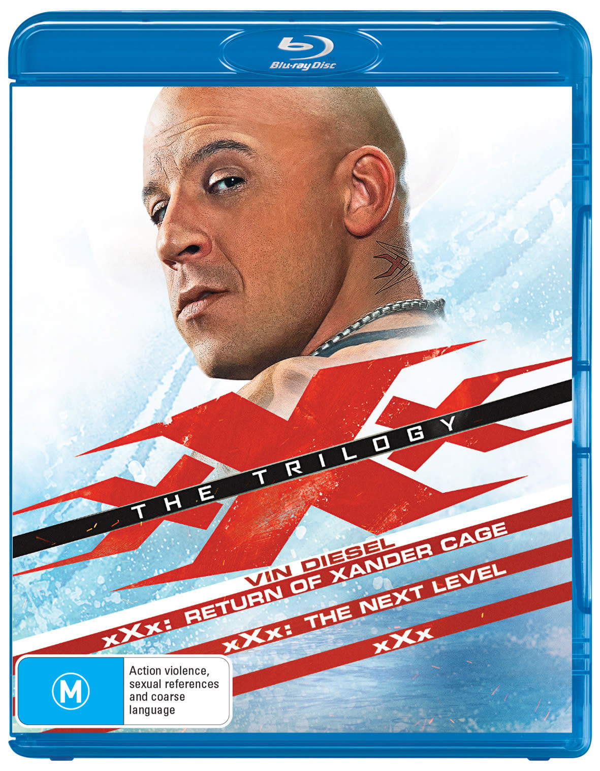 XXx/xXx 2 - State of the Union/xXx - The Return of Xander Cage [Blu-ray]
