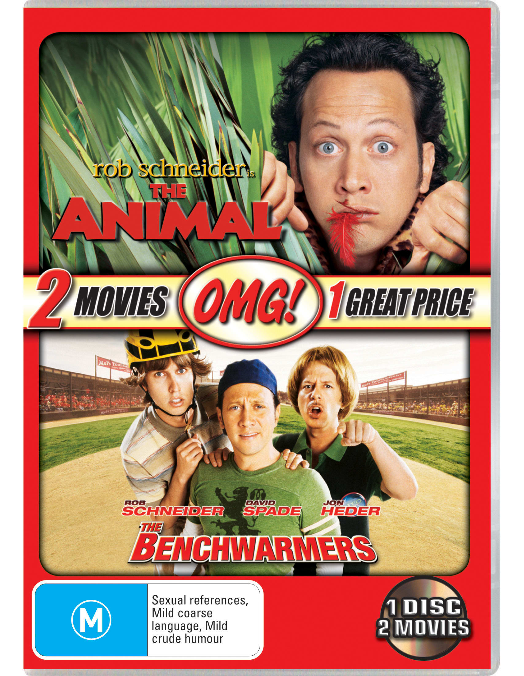 The Animal/The Benchwarmers [DVD]