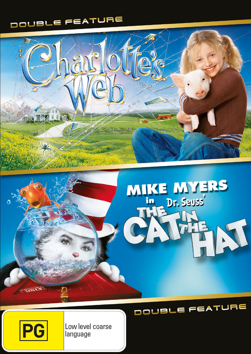 Charlotte's Web/The Cat in the Hat [DVD]