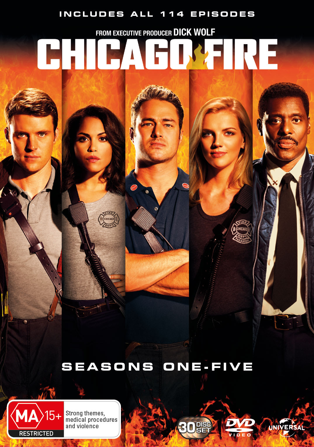 Chicago Fire: Seasons 1-5 (Box Set) [DVD]
