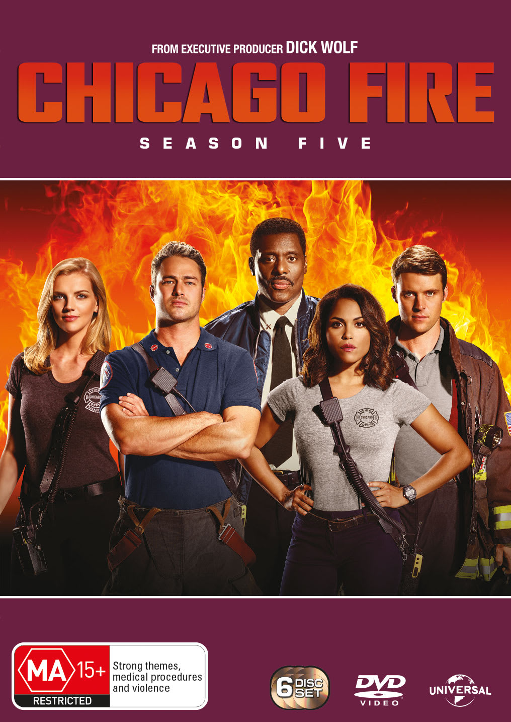 Chicago Fire: Season Five (Box Set) [DVD]