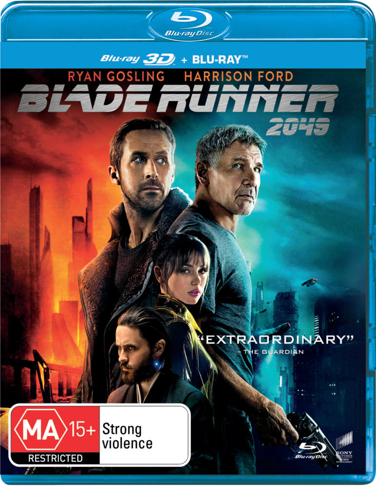 Blade Runner 2049 (3D Edition with 2D Edition) [Blu-ray]