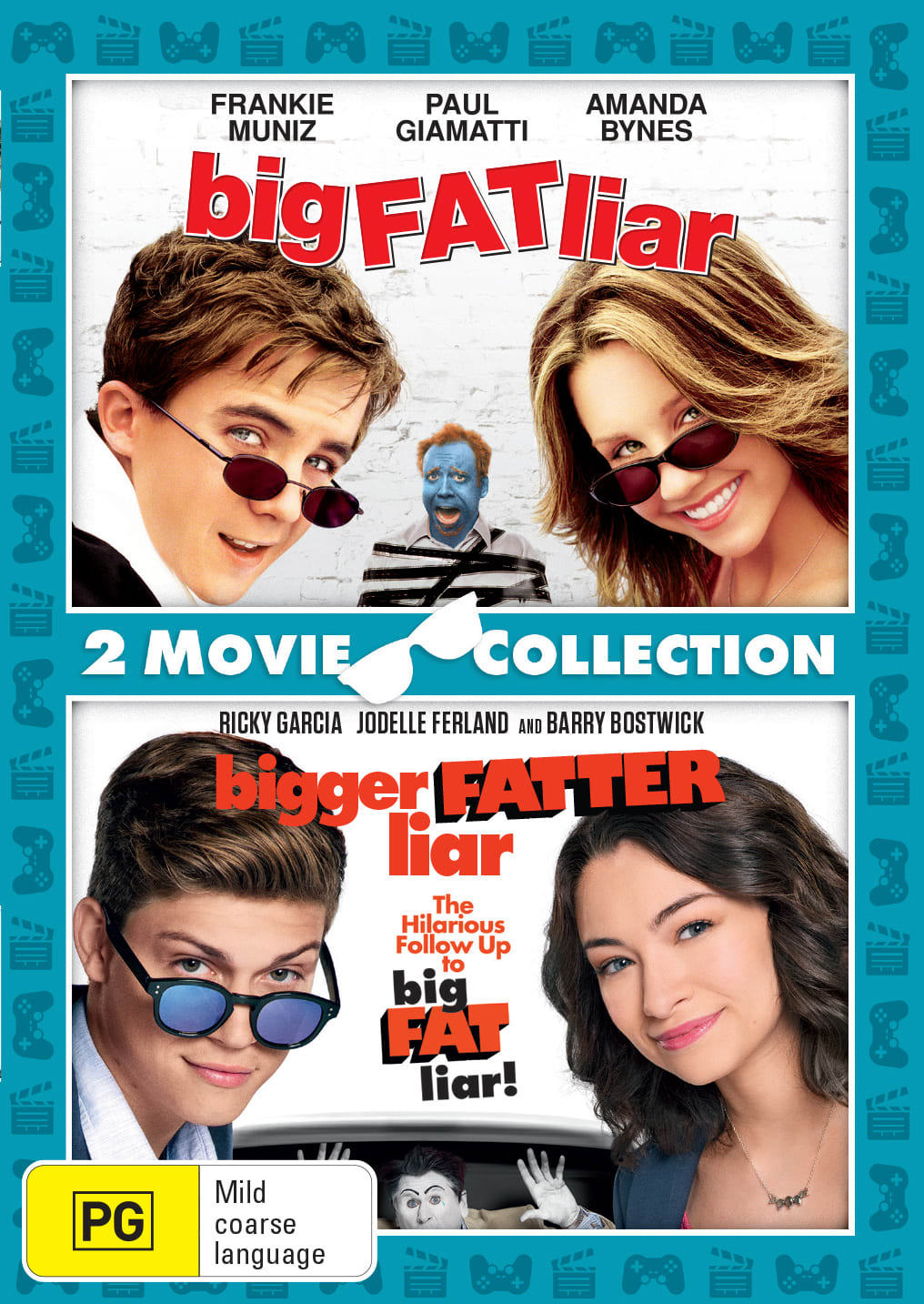 Big Fat Liar/Bigger Fatter Liar [DVD]